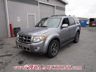 Used 2008 Ford ESCAPE LIMITED 4D UTILITY 4WD 3.0L for sale in Calgary, AB