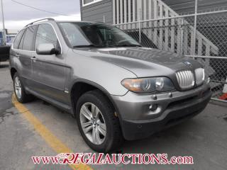 Used 2005 BMW X5  4D UTILITY 4.4I for sale in Calgary, AB