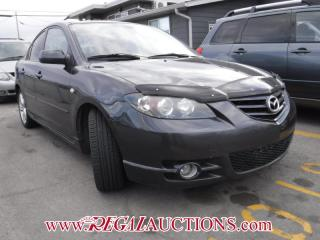 Used 2006 Mazda MAZDA3  4D SEDAN for sale in Calgary, AB