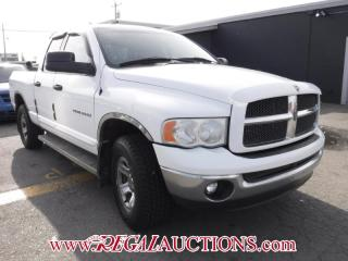 Used 2002 Dodge RAM 1500  QUAD CAB 4WD for sale in Calgary, AB