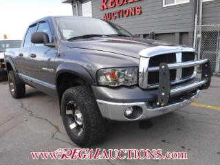 Used 2003 Dodge RAM 1500  QUAD CAB 4WD for sale in Calgary, AB