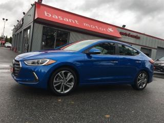 Used 2017 Hyundai Elantra Limited, Nav, Sunroof, Fuel Efficient!! for sale in Surrey, BC