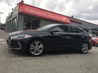 Used 2017 Hyundai Elantra Nav, Heated Front/Rear Seats, Sunroof!! for sale in Surrey, BC