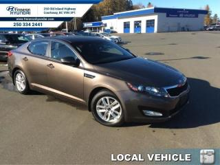 Used 2013 Kia Optima LX  - local - trade-in for sale in Courtenay, BC