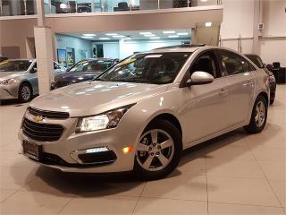 Used 2015 Chevrolet Cruze 2LT-AUTO-LEATHER-SUNROOF-CAMERA-ONLY 37KM for sale in York, ON