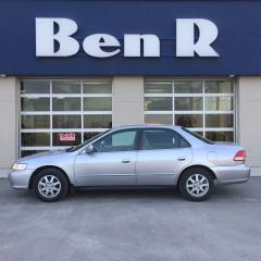 Used 2002 Honda Accord SE for sale in Steinbach, MB