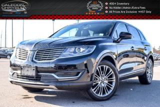 Used 2016 Lincoln MKX Reserve|AWD|Navi|Pano Sunroof|Backup Cam|Bluetooth|R-Start|18