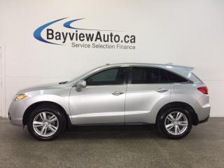 Used 2013 Acura RDX - 3.5L|AWD|SUNROOF|HTD LTHR|NAV|BLUETOOTH! for sale in Belleville, ON