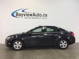 Used 2015 Chevrolet Cruze LT- TURBO|ALLOYS|SUNROOF|HTD LTHR|REV CAM|PIONEER! for sale in Belleville, ON