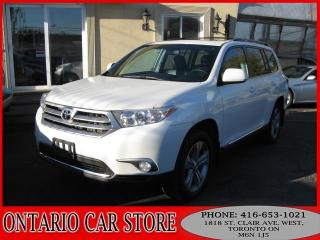 Used 2013 Toyota Highlander SPORT 4WD V6 LEATHER SUNROOF for sale in Toronto, ON