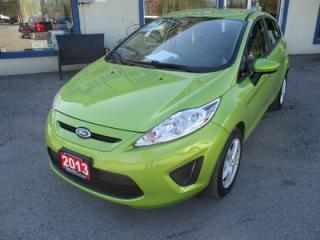 Used 2013 Ford Fiesta FUEL EFFICIENT SE EDITION 5 PASSENGER 1.6L - DOHC.. CD/AUX INPUT.. 5-SPEED MANUAL.. KEYLESS ENTRY.. for sale in Bradford, ON