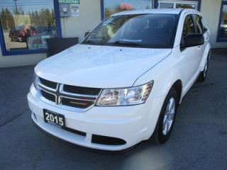 Used 2015 Dodge Journey POWER EQUIPPED SE MODEL 5 PASSENGER 2.4L - DOHC.. CD/AUX/USB INPUT.. TOUCH SCREEN.. KEYLESS ENTRY & START.. for sale in Bradford, ON
