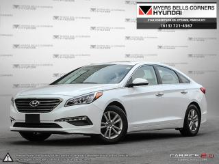 Used 2017 Hyundai Sonata SE for sale in Nepean, ON