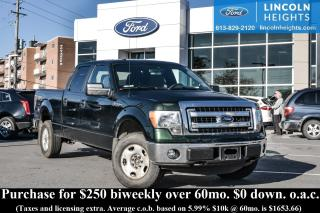 Used 2013 Ford F-150 XLT SUPERCREW 6.5' BED 4WD - BLUETOOTH - TRAILER TOW PACKAGE - TRAILER BRAKE CONTROLLER for sale in Ottawa, ON