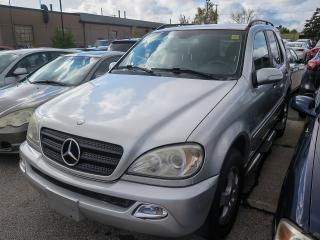 Used 2002 Mercedes-Benz ML 320 ML320 for sale in Scarborough, ON
