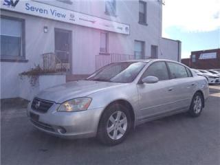 Used 2003 Nissan Altima SL,Limted,AS-IS, Sunroof for sale in Concord, ON