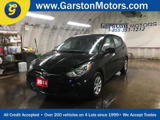 Used 2014 Hyundai Accent GS*HEATED FRONT SEATS*PHONE CONNECT*CLIMATE CONTROL*CRUISE CONTROL* for sale in Cambridge, ON