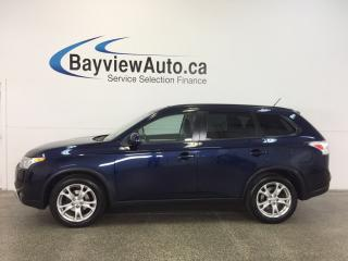 Used 2015 Mitsubishi Outlander ES- AWD|SUNROOF|HTD LTHR|REV CAM|BLUETOOTH! for sale in Belleville, ON