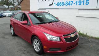 Used 2014 Chevrolet Cruze 2LT for sale in Kingston, ON