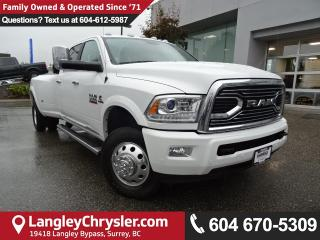 Used 2017 Dodge Ram 3500 Longhorn *DUALLY* DEMO CLEAR OUT* for sale in Surrey, BC