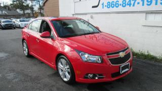 Used 2014 Chevrolet Cruze 2LT for sale in Richmond, ON