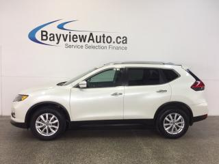 Used 2017 Nissan Rogue SV- AWD|REM STRT|HTD STS|BLUETOOTH|REV CAM|CRUISE! for sale in Belleville, ON