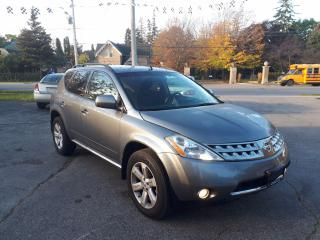 Used 2007 Nissan Murano SL for sale in Guelph, ON