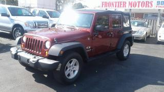 Used 2007 Jeep Wrangler X for sale in Hamilton, ON