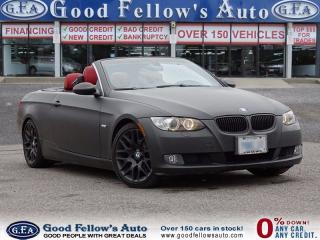 Used 2009 BMW 3 Series 328I MODEL, CABRIOLET,HARD TOP, FOG LIGHT, LEATHER for sale in North York, ON