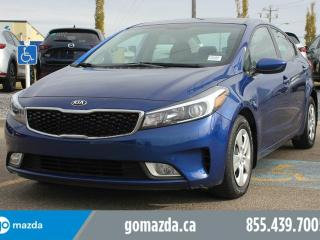 Used 2017 Kia Forte LX+ POWER OPTIONS BLUETOOTH HEATED SEATS ACCIDENT FREE LOCAL for sale in Edmonton, AB