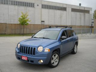 Used 2008 Jeep Compass Automatic, 4x4, 4 door, only 142000, certify, 3 y for sale in North York, ON