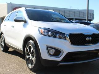 Used 2016 Kia Sorento 2.0L EX, HEATED SEATS, HEATED WHEEL, BACKUP CAM, BLIND SPOT DETECTION, PARK ASSIST, MEMORY SEAT CONTROLS, BLUETOOTH, CRUISE CONTROL, SIRIUS, AUX / USB for sale in Edmonton, AB