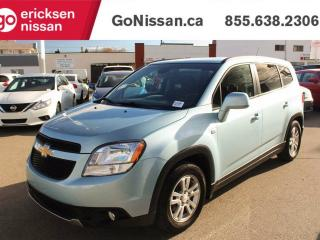 Used 2012 Chevrolet Orlando LT - AIR, CRUISE, BLUETOOTH!! for sale in Edmonton, AB