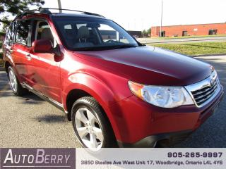 Used 2010 Subaru Forester 2.5X - PREMIUM for sale in Woodbridge, ON