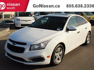 Used 2015 Chevrolet Cruze LT - LEATHER, SUNROOF, AUTO!! for sale in Edmonton, AB