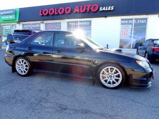 Used 2006 Subaru WRX STI Turbocharged 6 Speed Certified 2 YR Warranty for sale in Milton, ON