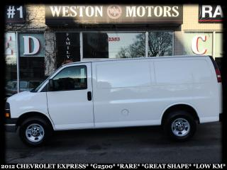 Used 2012 Chevrolet Express G2500*EXTENDED*RARE*GREAT SHAPE*LOW KM!!!* for sale in York, ON