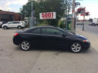 Used 2008 Honda Civic AUTO,S/ROOF,MAGS,SAFETY+3YEARS WARRANTY INCLUDED for sale in North York, ON