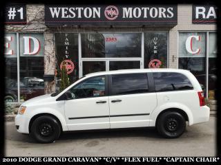 Used 2010 Dodge Grand Caravan CARGO VAN*CAPTAIN CHAIRS*FLEX FUEL* for sale in York, ON