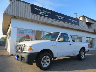 Used 2008 Ford Ranger XL, TOOL BOX, CERTIFIED for sale in Mississauga, ON