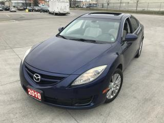 Used 2010 Mazda MAZDA6 Auto, 4 door, Only 144Km, 3/Y warranty available for sale in North York, ON