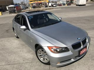 Used 2008 BMW 323i Only 107000 km, Leather, Sunroof, Certify, Automat for sale in North York, ON