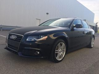 Used 2011 Audi A4 2.0T Premium Plus Pkg Quattro for sale in Mississauga, ON