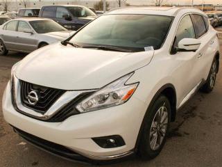 New 2017 Nissan Murano SL for sale in Edmonton, AB