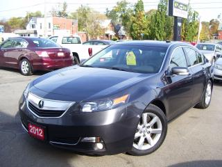 Used 2012 Acura TL Tech Pkg,Bluetooth,Navi,Backup camera for sale in Kitchener, ON