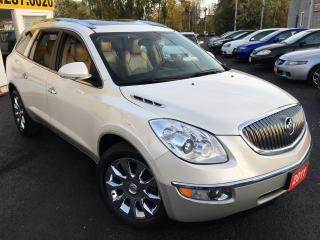 Used 2011 Buick Enclave CXL2/AUTO/LEATHER/DUAL SUNROOF/DVD/HEATED SEATS for sale in Scarborough, ON