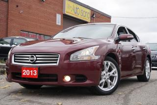 Used 2013 Nissan Maxima 3.5 SV,Bluetooth, Leather,Sunroof,Alloy for sale in North York, ON