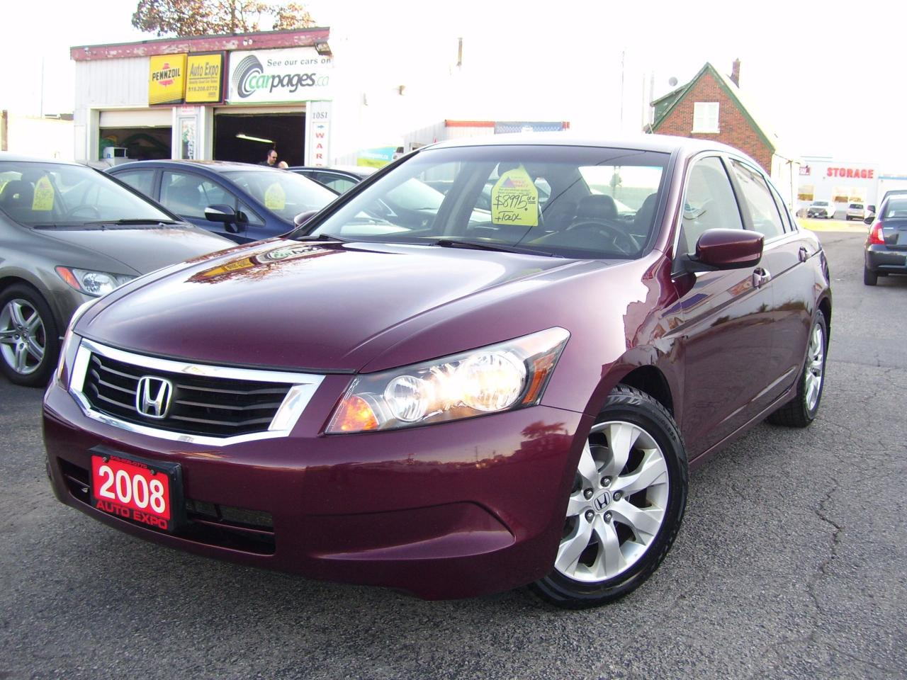 used 2008 honda accord sold for sale in kitchener ontario. Black Bedroom Furniture Sets. Home Design Ideas