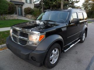 Used 2007 Dodge Nitro SE, 4X4, NO ACCIDENTS, CERTIFIED for sale in Etobicoke, ON