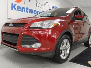 Used 2014 Ford Escape SE 4WD ecoboost and NAV, and heated power leather seats, and keyless entry for sale in Edmonton, AB